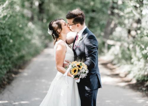 Romantisches Hochzeitsshooting